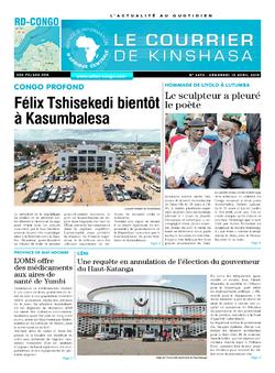 Les Dépêches de Brazzaville : Édition brazzaville du 12 avril 2019