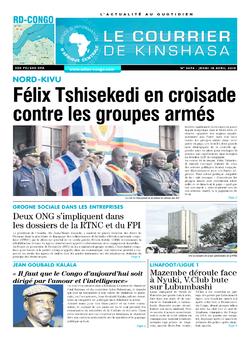 Les Dépêches de Brazzaville : Édition brazzaville du 18 avril 2019