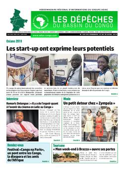Les Dépêches de Brazzaville : Édition du 6e jour du 20 avril 2019