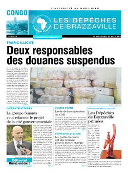 Les Dépêches de Brazzaville : Édition brazzaville du 29 avril 2019