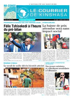 Les Dépêches de Brazzaville : Édition brazzaville du 06 mai 2019