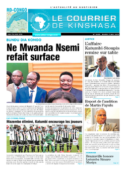 Les Dépêches de Brazzaville : Édition brazzaville du 07 mai 2019