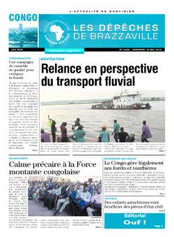 Les Dépêches de Brazzaville : Édition brazzaville du 10 mai 2019