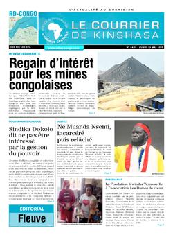 Les Dépêches de Brazzaville : Édition brazzaville du 13 mai 2019