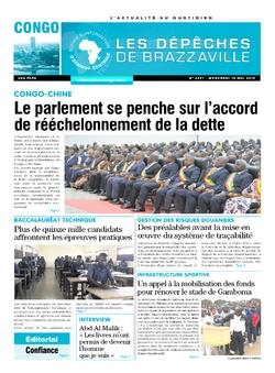Les Dépêches de Brazzaville : Édition brazzaville du 15 mai 2019