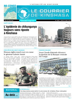 Les Dépêches de Brazzaville : Édition brazzaville du 16 mai 2019