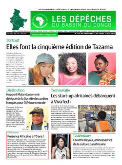 Les Dépêches de Brazzaville : Édition du 6e jour du 18 mai 2019