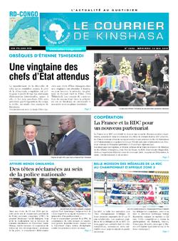 Les Dépêches de Brazzaville : Édition brazzaville du 22 mai 2019