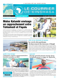 Les Dépêches de Brazzaville : Édition brazzaville du 23 mai 2019