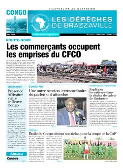Les Dépêches de Brazzaville : Édition brazzaville du 24 mai 2019