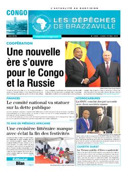 Les Dépêches de Brazzaville : Édition brazzaville du 27 mai 2019