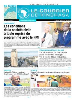 Les Dépêches de Brazzaville : Édition brazzaville du 28 mai 2019