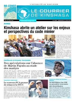 Les Dépêches de Brazzaville : Édition brazzaville du 05 juin 2019