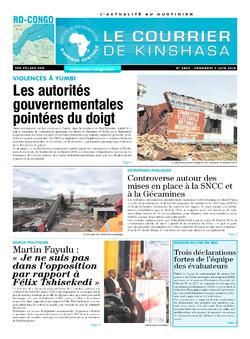 Les Dépêches de Brazzaville : Édition brazzaville du 07 juin 2019