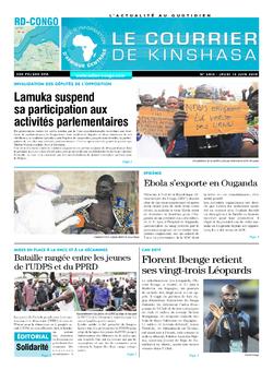 Les Dépêches de Brazzaville : Édition brazzaville du 13 juin 2019