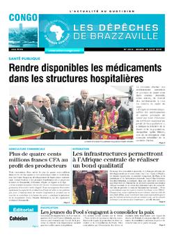 Les Dépêches de Brazzaville : Édition brazzaville du 18 juin 2019