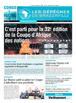 Les Dépêches de Brazzaville : Édition brazzaville du 23 juin 2019