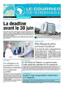Les Dépêches de Brazzaville : Édition brazzaville du 24 juin 2019