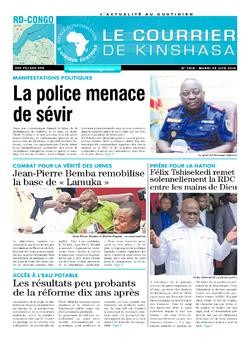 Les Dépêches de Brazzaville : Édition brazzaville du 25 juin 2019