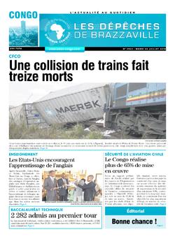 Les Dépêches de Brazzaville : Édition brazzaville du 02 juillet 2019