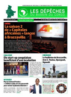 Les Dépêches de Brazzaville : Édition du 6e jour du 06 juillet 2019