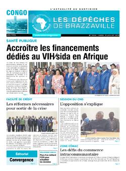 Les Dépêches de Brazzaville : Édition brazzaville du 15 juillet 2019