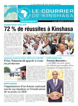 Les Dépêches de Brazzaville : Édition brazzaville du 17 juillet 2019