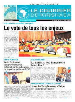 Les Dépêches de Brazzaville : Édition brazzaville du 23 juillet 2019
