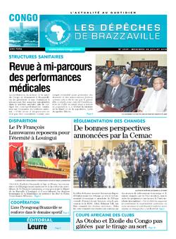 Les Dépêches de Brazzaville : Édition brazzaville du 24 juillet 2019