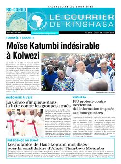 Les Dépêches de Brazzaville : Édition brazzaville du 25 juillet 2019