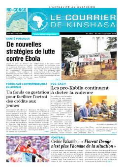 Les Dépêches de Brazzaville : Édition brazzaville du 30 juillet 2019