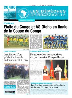 Les Dépêches de Brazzaville : Édition brazzaville du 01 août 2019