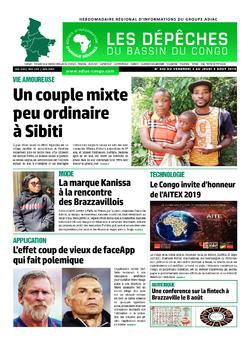 Les Dépêches de Brazzaville : Édition du 6e jour du 03 août 2019