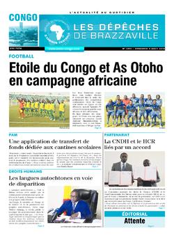 Les Dépêches de Brazzaville : Édition brazzaville du 09 août 2019