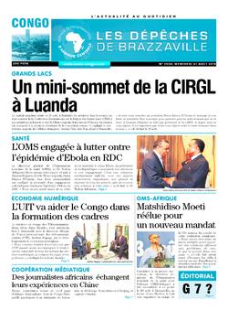 Les Dépêches de Brazzaville : Édition brazzaville du 21 août 2019