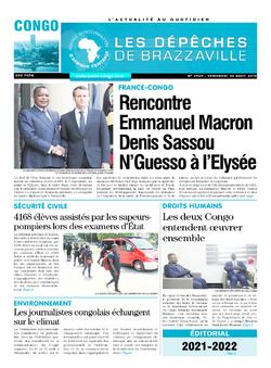 Les Dépêches de Brazzaville : Édition brazzaville du 30 août 2019