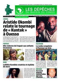 Les Dépêches de Brazzaville : Édition du 6e jour du 31 août 2019