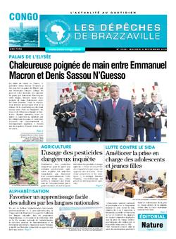 Les Dépêches de Brazzaville : Édition brazzaville du 04 septembre 2019