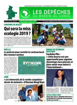 Les Dépêches de Brazzaville : Édition du 6e jour du 07 septembre 2019