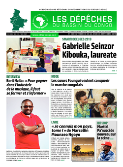 Les Dépêches de Brazzaville : Édition du 6e jour du 21 septembre 2019