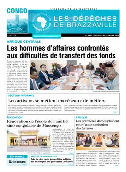 Les Dépêches de Brazzaville : Édition brazzaville du 26 septembre 2019