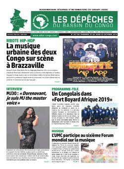 Les Dépêches de Brazzaville : Édition du 6e jour du 28 septembre 2019