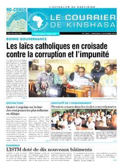 Les Dépêches de Brazzaville : Édition brazzaville du 04 octobre 2019