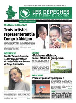 Les Dépêches de Brazzaville : Édition du 6e jour du 05 octobre 2019