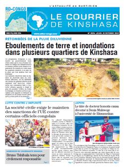 Les Dépêches de Brazzaville : Édition brazzaville du 10 octobre 2019