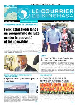 Les Dépêches de Brazzaville : Édition brazzaville du 17 octobre 2019