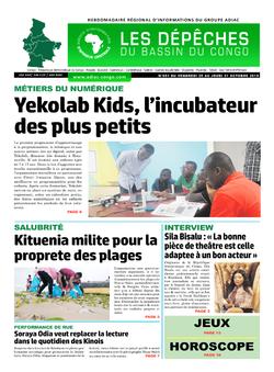 Les Dépêches de Brazzaville : Édition du 6e jour du 26 octobre 2019