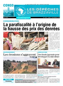 Les Dépêches de Brazzaville : Édition brazzaville du 04 novembre 2019