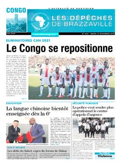 Les Dépêches de Brazzaville : Édition brazzaville du 19 novembre 2019