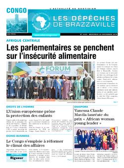 Les Dépêches de Brazzaville : Édition brazzaville du 20 novembre 2019